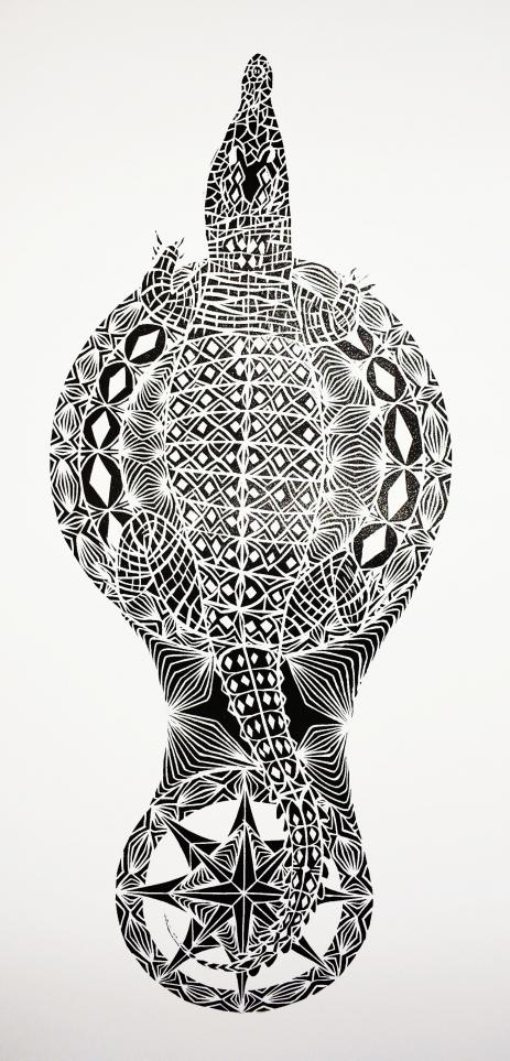 """Kodal Dreaming"" a print by artist Samuel Savage"